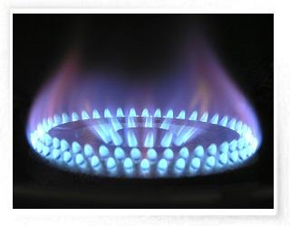 llama fuego  (a medio gas)